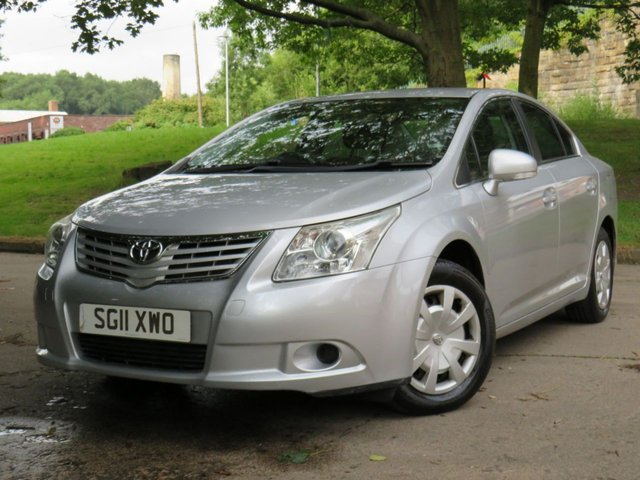 USED 2011 11 TOYOTA AVENSIS 2.0 T2 D-4D  4d 125 BHP
