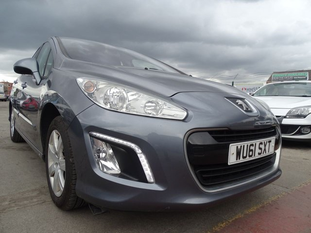 USED 2011 61 PEUGEOT 308 1.6 HDI ACTIVE 5d 92 BHP LOW TAX BRACKET
