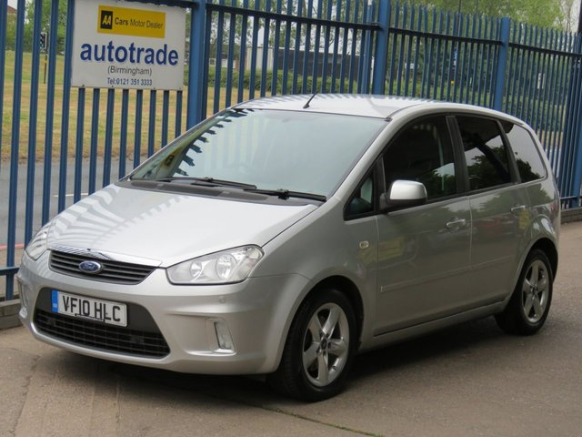 USED 2010 10 FORD C-MAX 1.8 tdci ZETEC 5dr 115 Privacy glass Parking sensors Air con Alloys Finance arranged Part exchange available Open 7 days