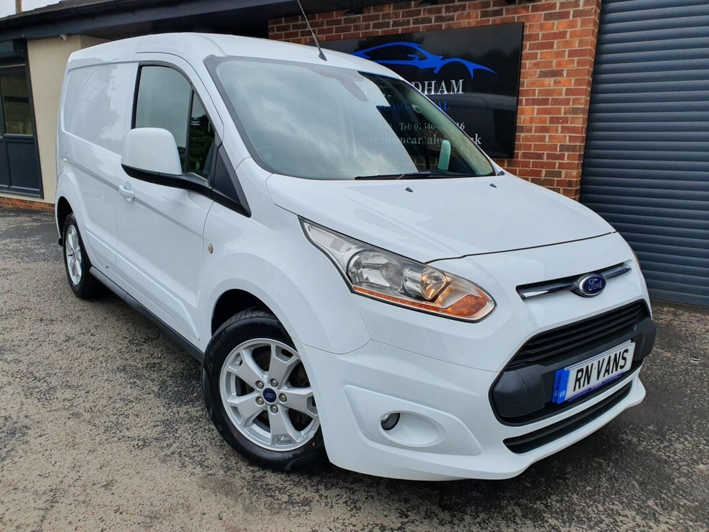 USED 2015 65 FORD TRANSIT CONNECT 1.6 200 LIMITED P/V 114 BHP *** 1 OWNER - FSH ***