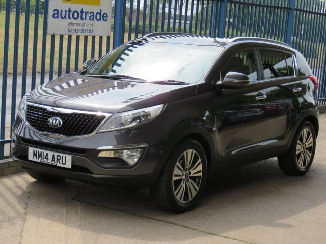 USED 2014 14 KIA SPORTAGE 1.7 CRDI 3 ISG 5dr 114 Pan roof Leather Rear camera Cruise Park sensors Finance arranged Part exchange available Open 7 days