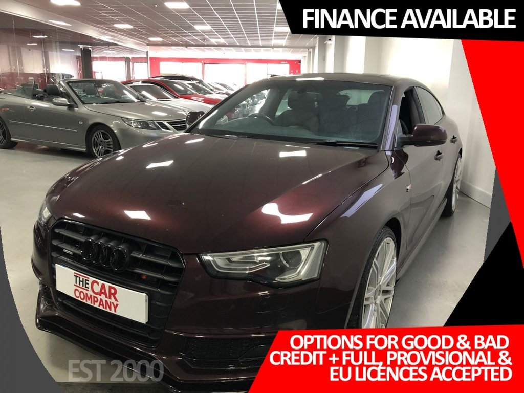 USED 2012 61 AUDI A5 3.0 SPORTBACK TDI QUATTRO S LINE 5d 245 BHP * NAV * SUNROOF * LEATHER *