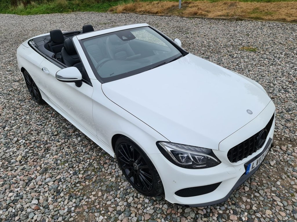 USED 2017 17 MERCEDES-BENZ C-CLASS 2.1 C 220 D AMG LINE PREMIUM PLUS 2d 168 BHP
