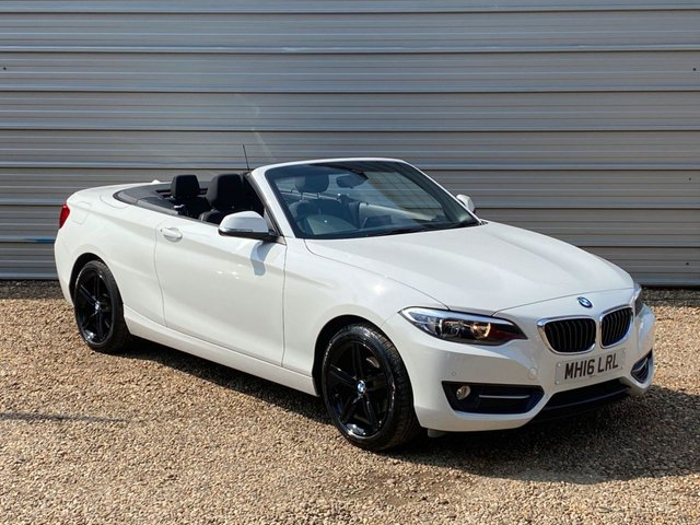 USED 2016 16 BMW 2 SERIES 1.5 218I SPORT 2d 134 BHP 1 Owner-Low Mileage-Navigation