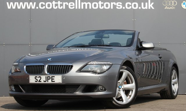 2009 59 BMW 6 SERIES 3.0 635D SPORT 2d 282 BHP