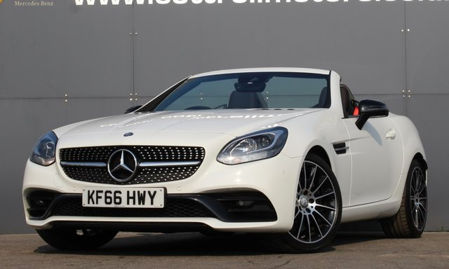2016 66 MERCEDES-BENZ SLC 2.1 SLC 250 D AMG LINE 2d 201 BHP [ NIGHT PACKAGE ]