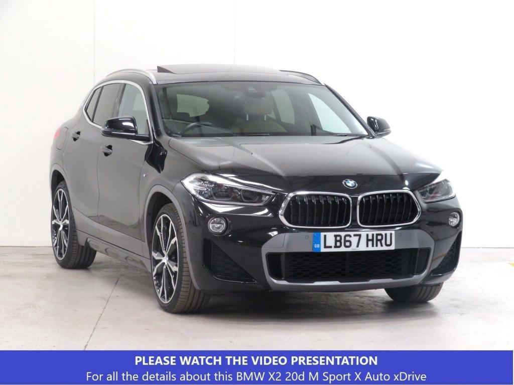 USED 2018 67 BMW X2 2.0 20d M Sport X Auto xDrive (s/s) 5dr £6050 EXTRA*PANROOF*TECH*XPLUS