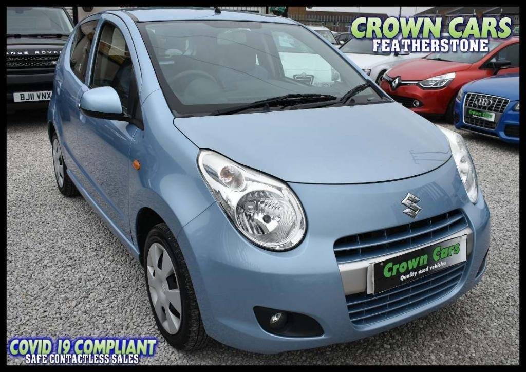 USED 2012 62 SUZUKI ALTO 1.0 Play 5dr ++ LOW MILEAGE++