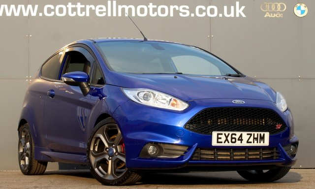 2014 64 FORD FIESTA 1.6 ST-3 3d 230 BHP [ RE MAPPED TO 230 BHP ]
