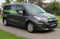 USED 2018 18 FORD TRANSIT CONNECT 1.5 240 LIMITED P/V 118 BHP AUTOMATIC LONG WHEEL BASE LIMITED MANUFACTURE WARRANTY 2021