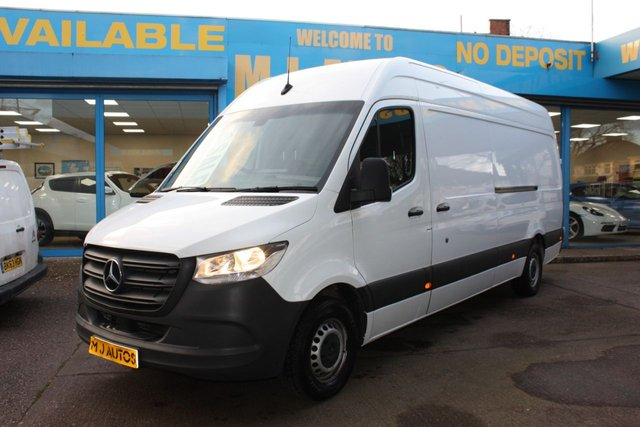 USED 2018 18 MERCEDES-BENZ SPRINTER 2.1 314 CDI 141 BHP L3 H2 LWB HIGH ROOF NEED FINANCE??? APPLY WITH US!!! CLICK THE LINK