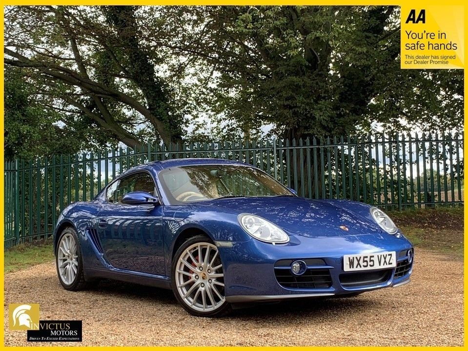USED 2005 55 PORSCHE CAYMAN 3.4 24V S 2d 295 BHP COUPE