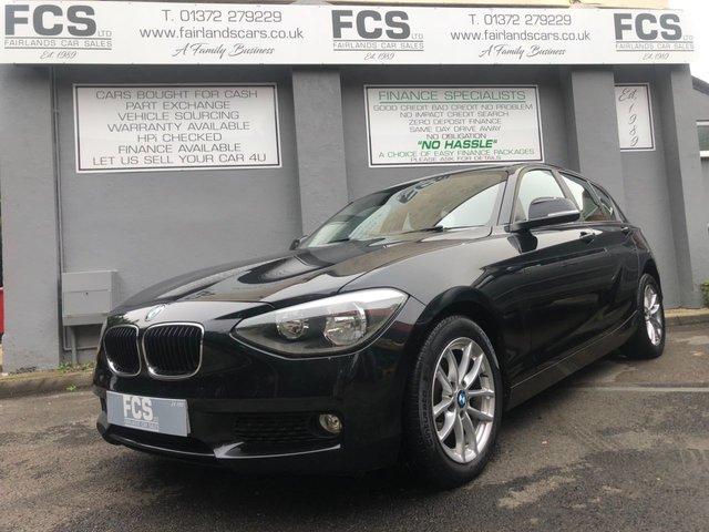 2013 13 BMW 1 SERIES 2.0 118D SE 5d 141 BHP
