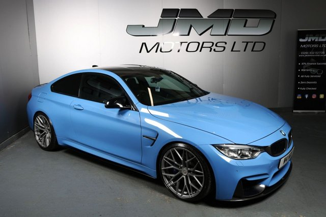 USED 2016 M BMW M4 LATE 2016 BMW M4 3.0 DTC 426 BHP (FINANCE AND WARRANTY)