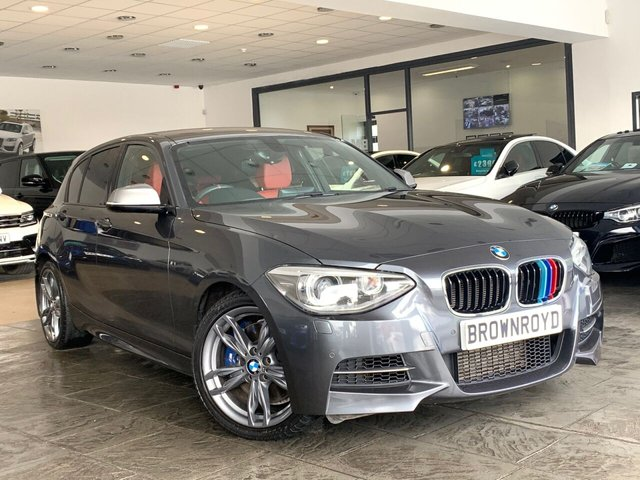 USED 2013 63 BMW 1 SERIES 3.0 M135I 5d 316 BHP SAT NAV+RED LEATHER+LOW MILES