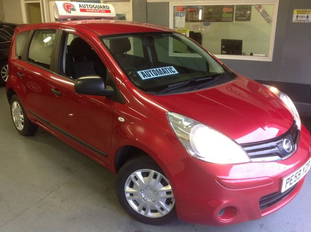 2009 59 NISSAN NOTE 1.6  AUTOMATIC