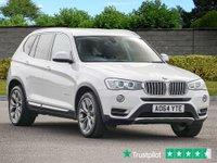 USED 2014 64 BMW X3 3.0 XDRIVE30D XLINE 5d 255 BHP Navigation Professional Xenons