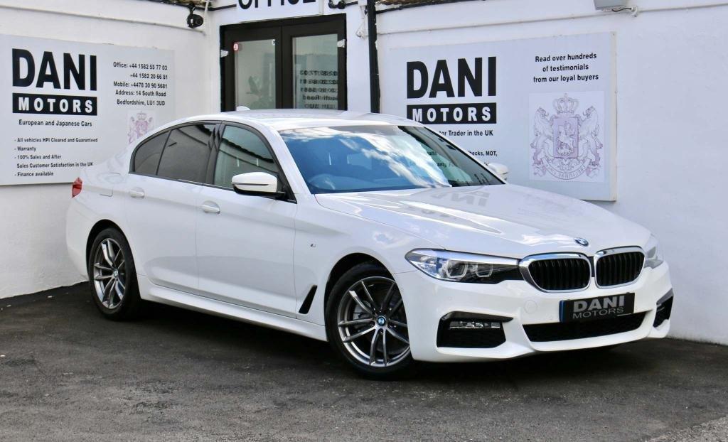 USED 2018 18 BMW 5 SERIES 2.0 520i GPF M Sport Auto (s/s) 4dr 1 OWNER*SATNAV*PARKING AID