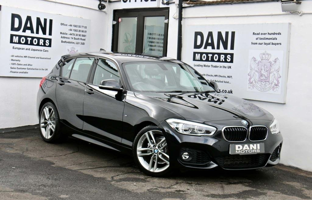 USED 2018 18 BMW 1 SERIES 1.5 118i M Sport DCT (s/s) 5dr 1 OWNER*SATNAV*BLUETOOTH