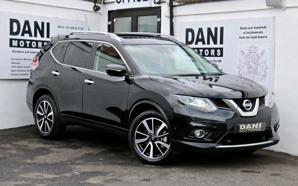 USED 2017 17 NISSAN X-TRAIL 1.6 dCi Tekna XTRON (s/s) 5dr PAN ROOF*SATNAV*REV CAMERA