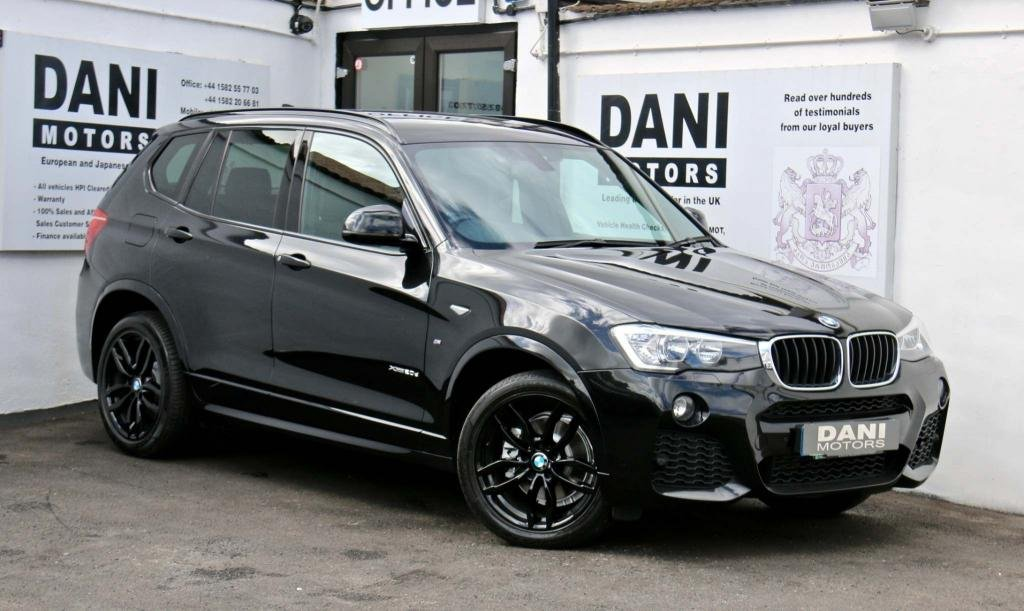 USED 2016 16 BMW X3 2.0 20d M Sport Sport Auto xDrive 5dr 1 OWNER*SATNAV*PARKING AID