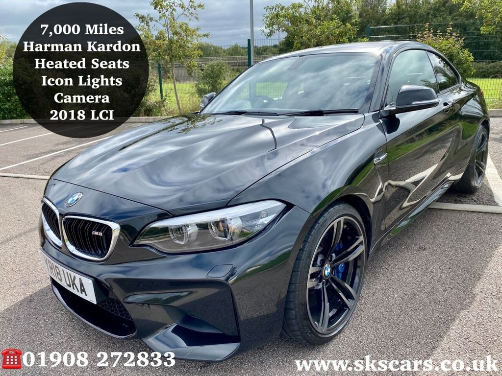 USED 2018 18 BMW M2 3.0 M2 2d 365 BHP Great Specification