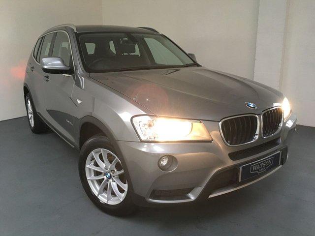 2012 12 BMW X3 2.0 XDRIVE20D SE 5d 181 BHP