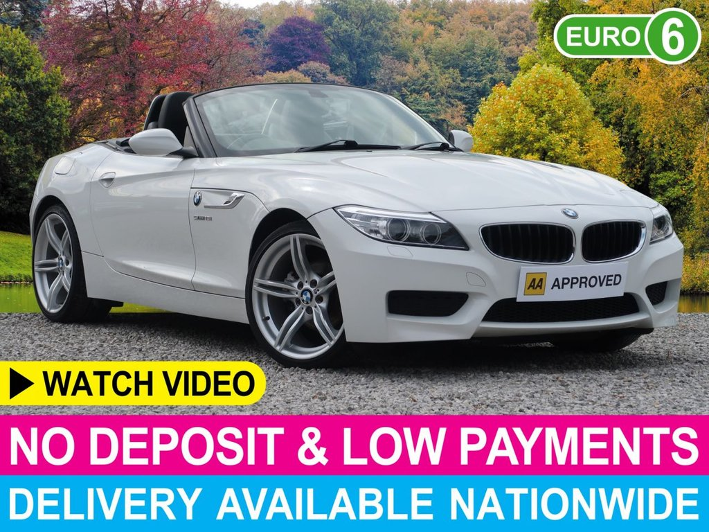 """USED 2013 13 BMW Z4 2.0 sDrive M Sport 1.8 Roadster Convertible Power Roof Leather 19"""" Alloys"""