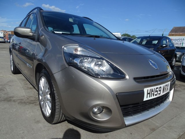 USED 2009 59 RENAULT CLIO 1.1 DYNAMIQUE TCE 5d 101 BHP YEAR MOT