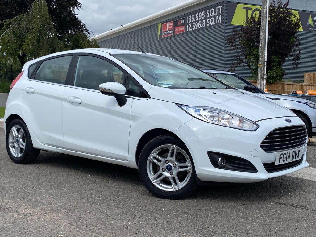 USED 2014 14 FORD FIESTA 1.2 ZETEC 5d 81 BHP Very clean and tidy Fiesta with only £30 per year road tax and will be serviced and MOT'd prior to collection