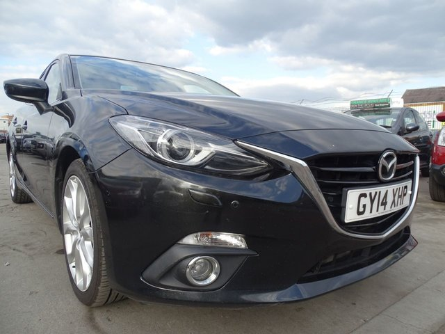 USED 2014 14 MAZDA 3 2.2 D SPORT NAV 5d 148 BHP £20 ROAD TAX FOR THE YEAR