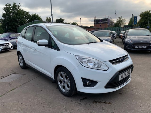 USED 2013 13 FORD C-MAX 1.6 ZETEC 5d 104 BHP SERVICE HISTORY