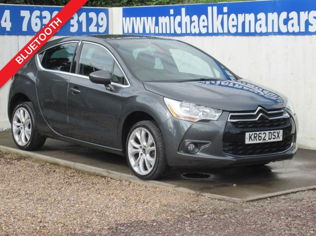 USED 2012 62 CITROEN DS4 1.6 HDI DSTYLE 5d 110 BHP FSH,BLUETOOTH, AUX/USB INPUT
