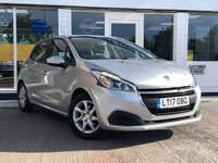 USED 2017 17 PEUGEOT 208 1.2 PURETECH ACTIVE 5d 82 BHP AVAILABLE FOR ONLY £150 PER MONTH WITH £0 DEPOSIT