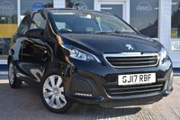 USED 2017 17 PEUGEOT 108 1.0 ACTIVE 5d 68 BHP AVAILABLE FOR ONLY £140 PER MONTH WITH £0 DEPOSIT