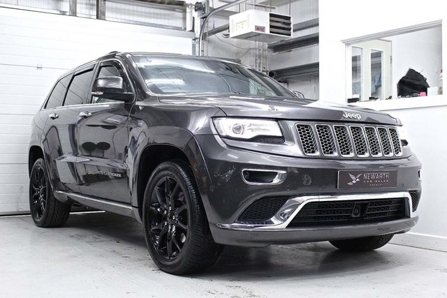 2013 63 JEEP GRAND CHEROKEE 3.0 V6 CRD Summit Auto 4WD 5dr