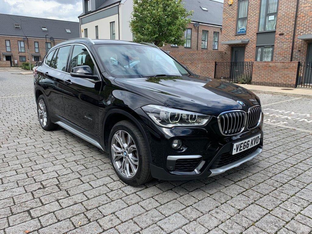 USED 2016 66 BMW X1 2.0L XDRIVE20D XLINE 5d 188 BHP XENON,LEATHERS,FBMWSH, 6m Warranty, NEW MOT, ULEZ FREE
