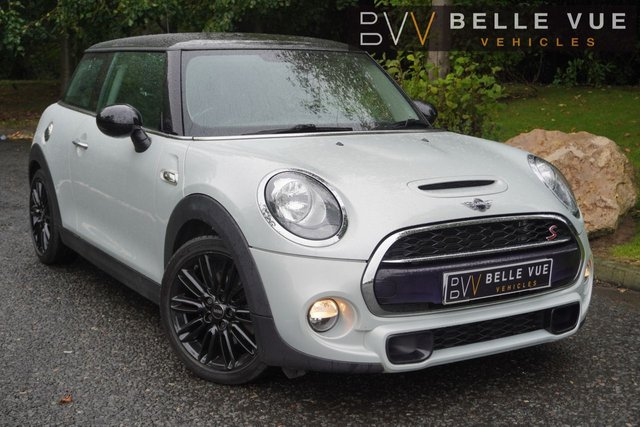 """USED 2015 65 MINI HATCH COOPER 2.0 COOPER S 3d 189 BHP *CRUISE CONTROL, 1/2 LEATHER, DUAL ZONE CLIMATE CONTROL, 17"""" ALLOYS!*"""