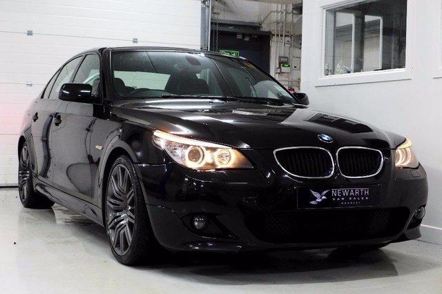 2009 09 BMW 5 SERIES 3.0 525D M SPORT BUSINESS EDITION 4d 195 BHP