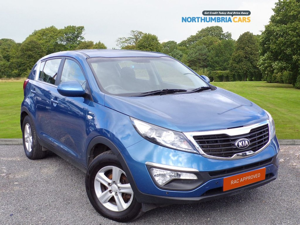 USED 2014 14 KIA SPORTAGE 2.0 CRDI KX-1 5d 134 BHP All Wheel Drive and Air Contitioning