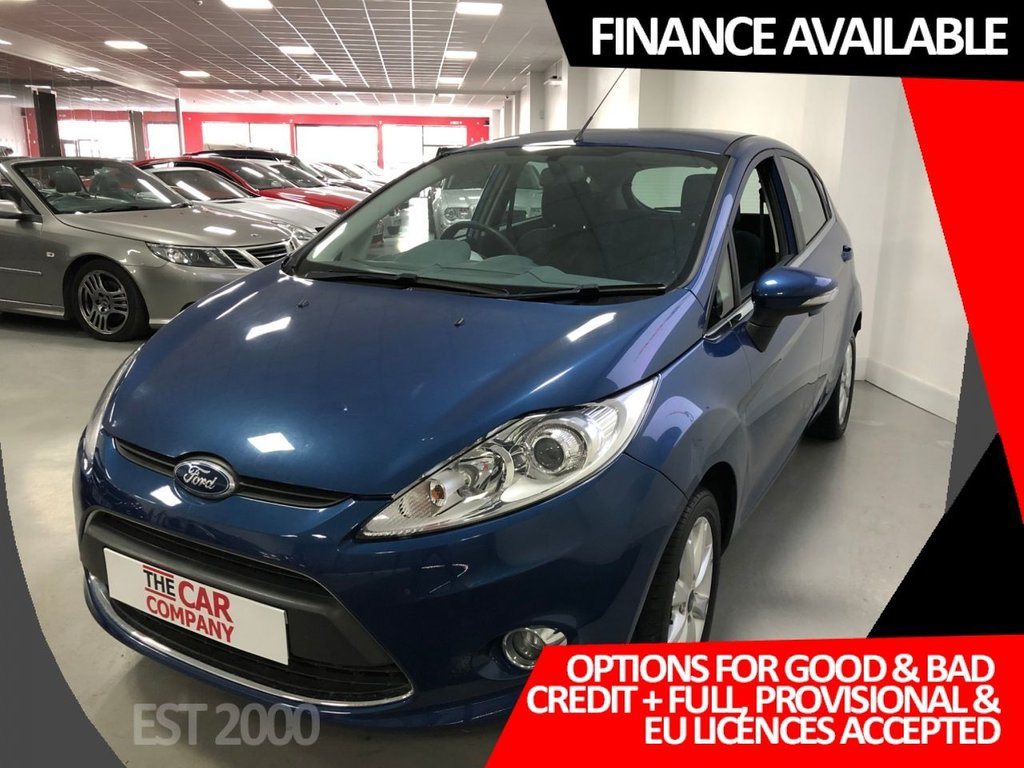 USED 2010 60 FORD FIESTA 1.2 ZETEC 5d 81 BHP * VERY LOW MILES * FRESH MOT * 2 KEYS *
