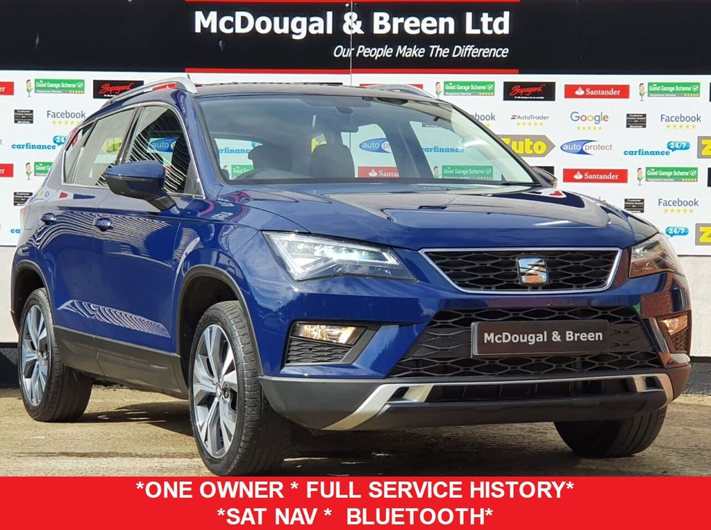 USED 2017 66 SEAT ATECA 1.0 TSI ECOMOTIVE SE TECHNOLOGY 5d 114 BHP