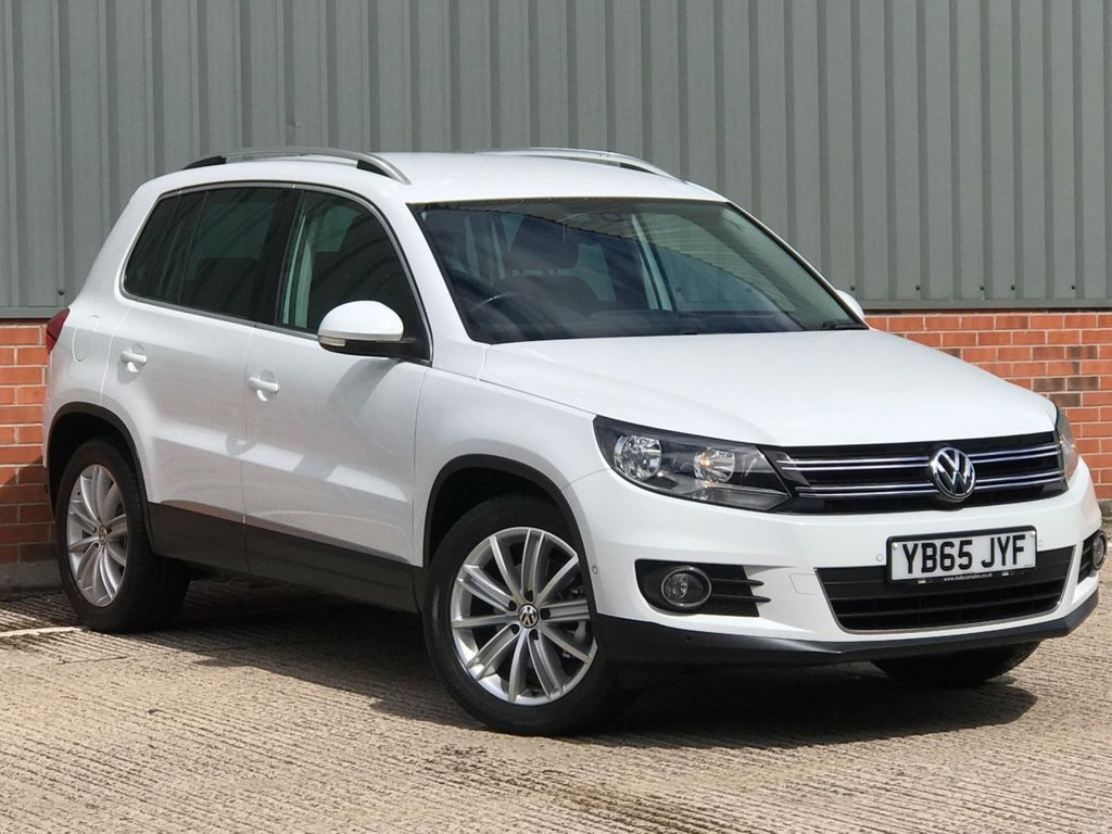 USED 2015 65 VOLKSWAGEN TIGUAN 2.0 MATCH EDITION TDI BMT 5d 148 BHP EXCELLENT LOW MILEAGE EXAMPLE