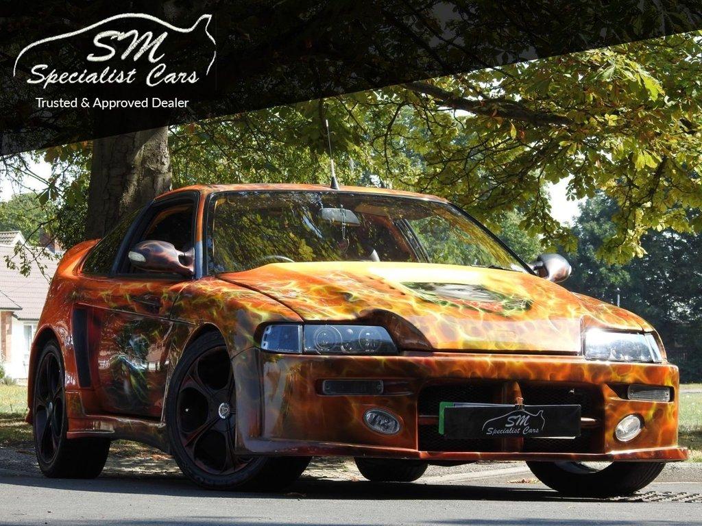 USED 1989 G HONDA CR-X 1.6 CRX 3d 130 BHP SHOW CAR AYRTON SENNA TRIBUTE