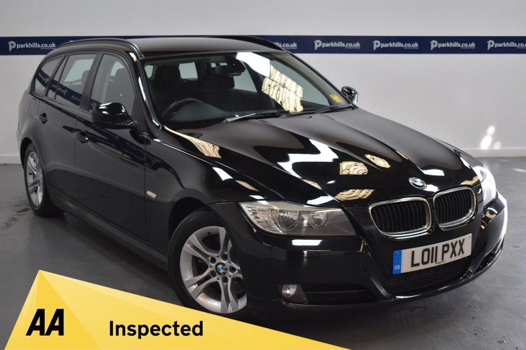 """USED 2011 11 BMW 3 SERIES 2.0 320D ES TOURING 5d 180 BHP (AIR CON -  16"""" ALLOYS)"""