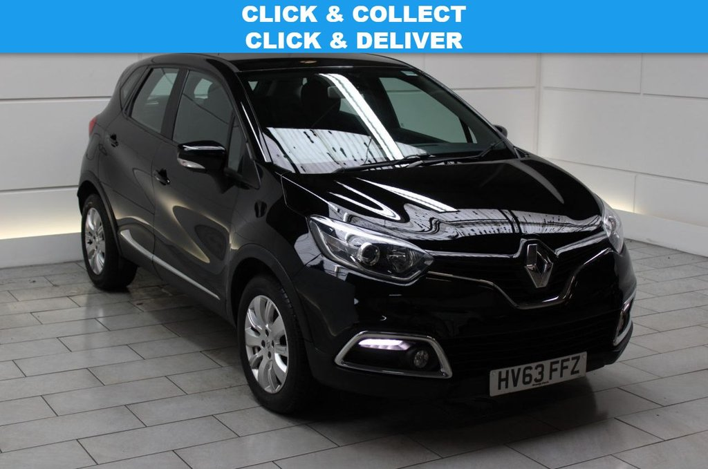 USED 2013 63 RENAULT CAPTUR 1.5 dCi Expression + Convenience Pack (start/stop)