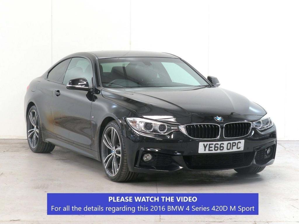 USED 2016 66 BMW 4 SERIES 2.0 420d M Sport 2dr £5,965 EXTRA*COMFORT+PLUS-PACK