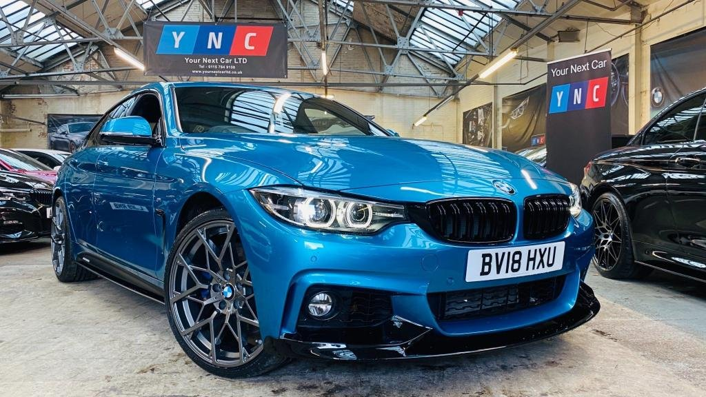 USED 2018 18 BMW 4 SERIES 3.0 435d M Sport Gran Coupe Auto xDrive (s/s) 5dr PERFORMANCEKIT+19S+HK+MBRAKES
