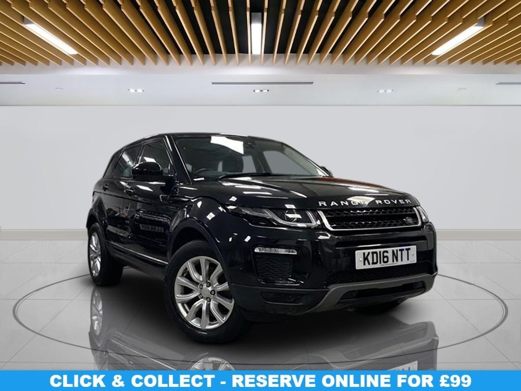 """USED 2016 16 LAND ROVER RANGE ROVER EVOQUE 2.0 TD4 SE TECH 5d 177 BHP Panoramic Sunroof, Climate Control, Parking sensors(s), Navigation System, Leather Trim, 18"""" Alloy Wheels"""