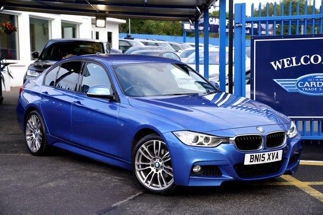 2015 15 BMW 3 SERIES 2.0 320D XDRIVE M SPORT 4d 181 BHP